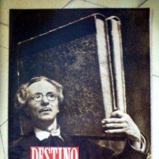 Coleccionismo de Revista Destino: DESTINO NÚMERO DEDICADO A LA FIESTA DEL LIBRO 1945 Nº 405. Lote 89280816