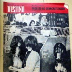 Coleccionismo de Revista Destino: REVISTA DESTINO 1 ABRIL 1967. Lote 89281536