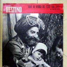 Coleccionismo de Revista Destino: DESTINO 3 ENERO 1970 Nº 1683. Lote 89282760