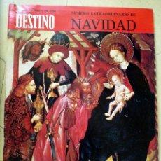 Coleccionismo de Revista Destino: DESTINO Nº 1681 20 DE DICIEMBRE DE 1960 EXTRAORDINARIO DE NAVIDAD. Lote 89283964
