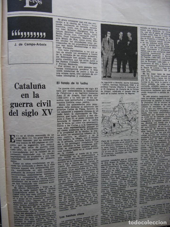 PPRLY - CATALUÑA EN LA GUERRA CIVIL DEL SIGLO XV. LA ESTÉTICA DE TORRES-GARCÍA. VER SUMARIO. (Coleccionismo - Revistas y Periódicos Modernos (a partir de 1.940) - Revista Destino)
