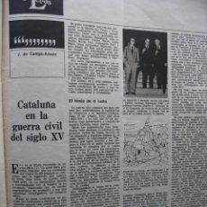 Coleccionismo de Revista Destino: PPRLY - CATALUÑA EN LA GUERRA CIVIL DEL SIGLO XV. LA ESTÉTICA DE TORRES-GARCÍA. VER SUMARIO.. Lote 89637360