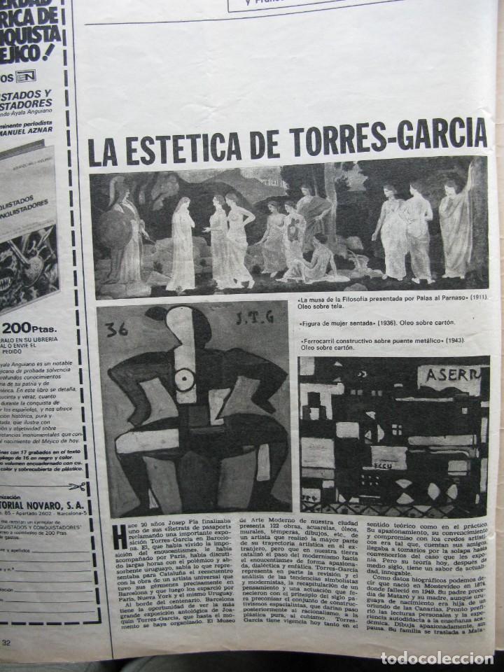 Coleccionismo de Revista Destino: PPRLY - CATALUÑA EN LA GUERRA CIVIL DEL SIGLO XV. LA ESTÉTICA DE TORRES-GARCÍA. VER SUMARIO. - Foto 2 - 89637360