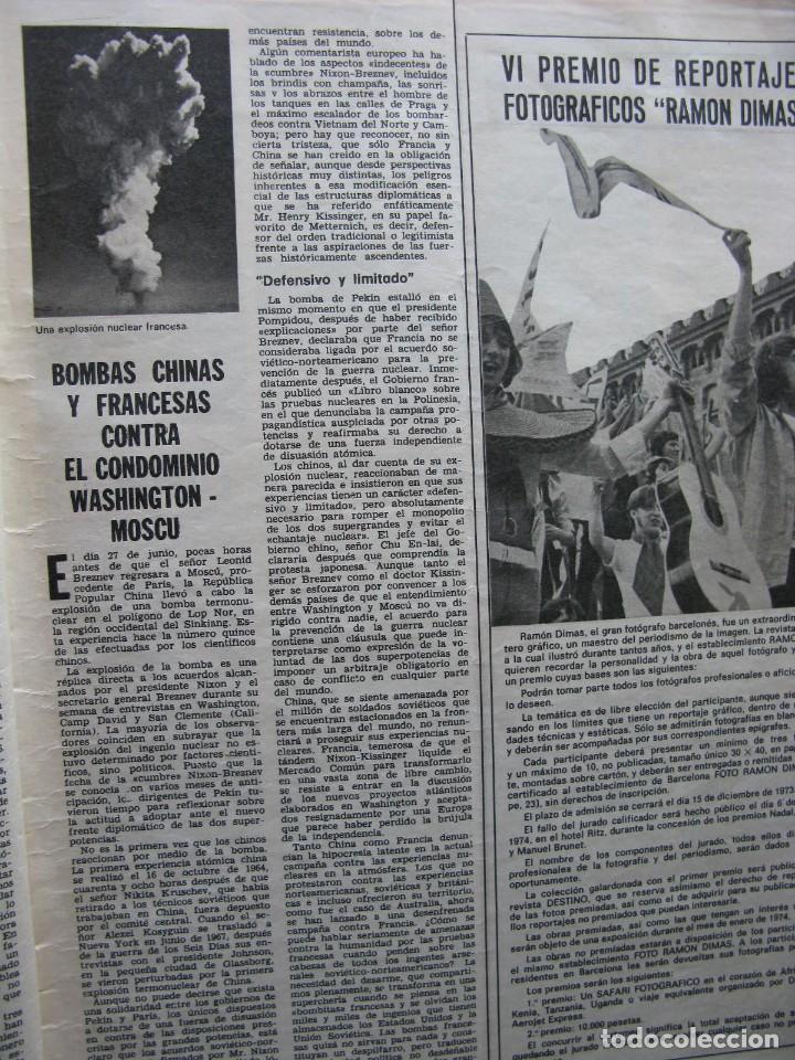 Coleccionismo de Revista Destino: PPRLY - CATALUÑA EN LA GUERRA CIVIL DEL SIGLO XV. LA ESTÉTICA DE TORRES-GARCÍA. VER SUMARIO. - Foto 9 - 89637360