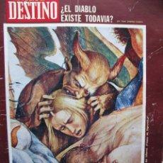 Coleccionismo de Revista Destino: PPRLY - MONÓLOGO CON LUIS LÓPEZ ALVAREZ. PROBLEMAS DE LA ARTEGRAFÍA HOY Y AQUÍ. VER SUMARIO.. Lote 89638728