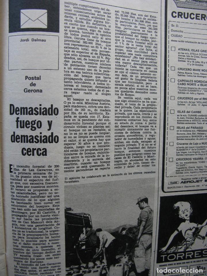 Coleccionismo de Revista Destino: PPRLY - MONÓLOGO CON LUIS LÓPEZ ALVAREZ. PROBLEMAS DE LA ARTEGRAFÍA HOY Y AQUÍ. VER SUMARIO. - Foto 5 - 89638728