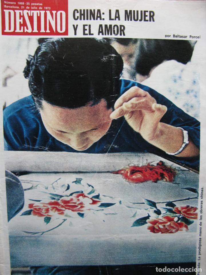 PPRLY - LA CHINA DE MAO. CHINA LA MUJER Y EL AMOR. RACHMANINOFF. VER SUMARIO. (Coleccionismo - Revistas y Periódicos Modernos (a partir de 1.940) - Revista Destino)