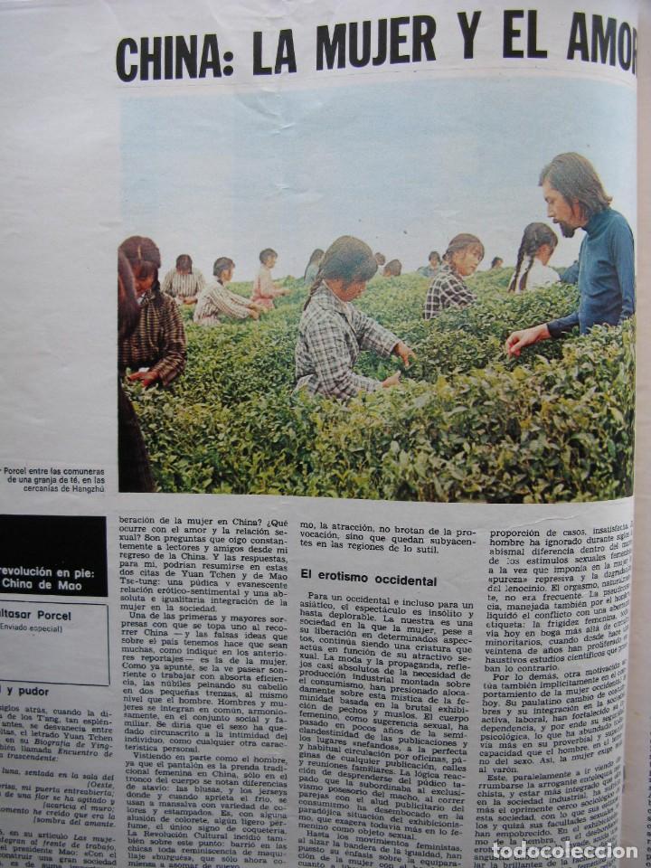 Coleccionismo de Revista Destino: PPRLY - LA CHINA DE MAO. CHINA LA MUJER Y EL AMOR. RACHMANINOFF. VER SUMARIO. - Foto 2 - 89639252