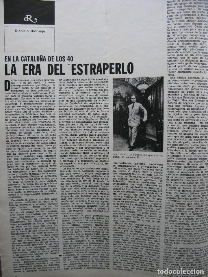 PPRLY - EL ÚLTIMO TANGO DE HERR GOETHE. LITERATURA CATALANA CONTEMPORÀNIA. VER SUMARIO. (Coleccionismo - Revistas y Periódicos Modernos (a partir de 1.940) - Revista Destino)