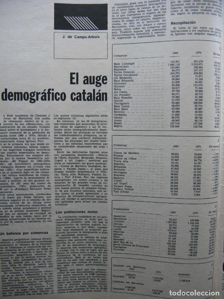 Coleccionismo de Revista Destino: PPRLY - EL ÚLTIMO TANGO DE HERR GOETHE. LITERATURA CATALANA CONTEMPORÀNIA. VER SUMARIO. - Foto 2 - 89641148