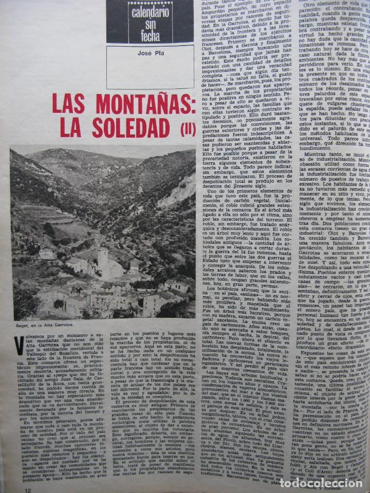 Coleccionismo de Revista Destino: PPRLY - EL ÚLTIMO TANGO DE HERR GOETHE. LITERATURA CATALANA CONTEMPORÀNIA. VER SUMARIO. - Foto 3 - 89641148