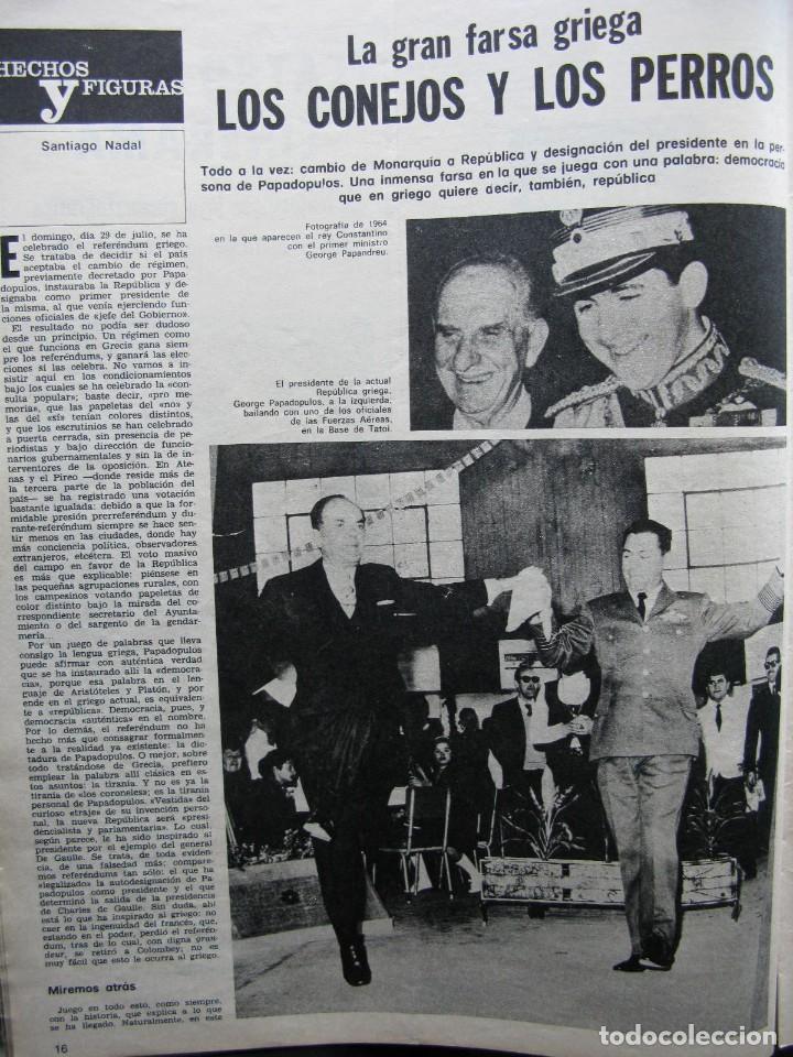 Coleccionismo de Revista Destino: PPRLY - EL ÚLTIMO TANGO DE HERR GOETHE. LITERATURA CATALANA CONTEMPORÀNIA. VER SUMARIO. - Foto 4 - 89641148