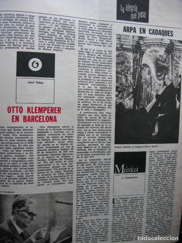 Coleccionismo de Revista Destino: PPRLY - EL ÚLTIMO TANGO DE HERR GOETHE. LITERATURA CATALANA CONTEMPORÀNIA. VER SUMARIO. - Foto 11 - 89641148
