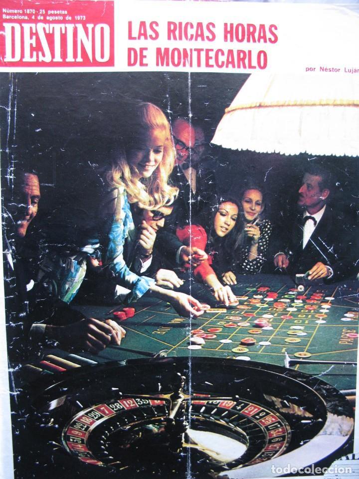 Coleccionismo de Revista Destino: PPRLY - EL ÚLTIMO TANGO DE HERR GOETHE. LITERATURA CATALANA CONTEMPORÀNIA. VER SUMARIO. - Foto 12 - 89641148