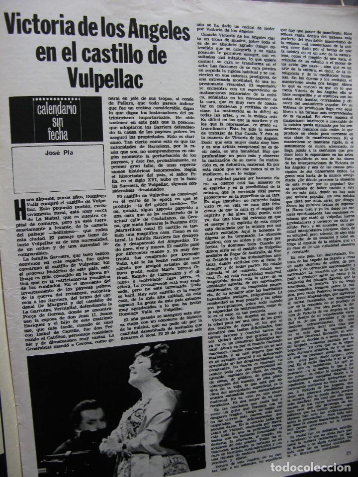 Coleccionismo de Revista Destino: PPRLY - LLORENS I BARBA, MARAGALL Y LOS KRAUSISTAS. PERE VERGÉS Y LA ESCOLA DEL MAR. VER SUMARIO. - Foto 2 - 89642100