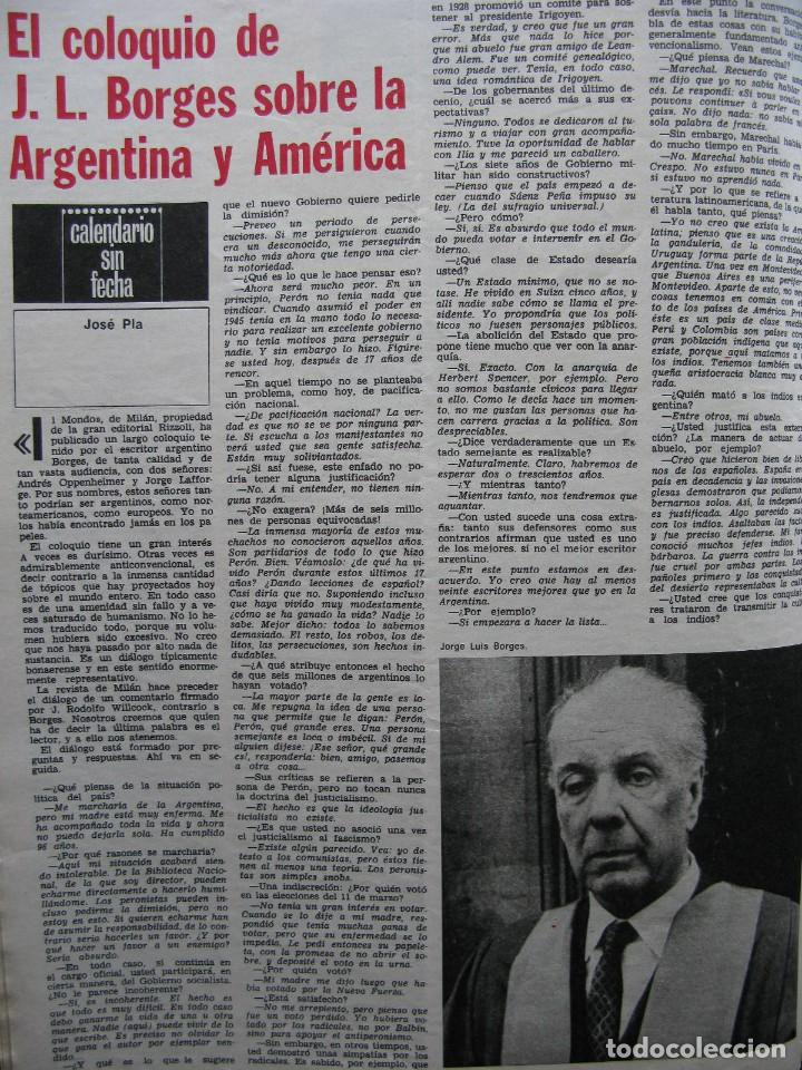 Coleccionismo de Revista Destino: PPRLY - SAFARI A PERPIGNAN, TERENCE MOIX. MONÓLOGO DE MERCÉ RODODERA. VER SUMARIO. - Foto 3 - 89644600