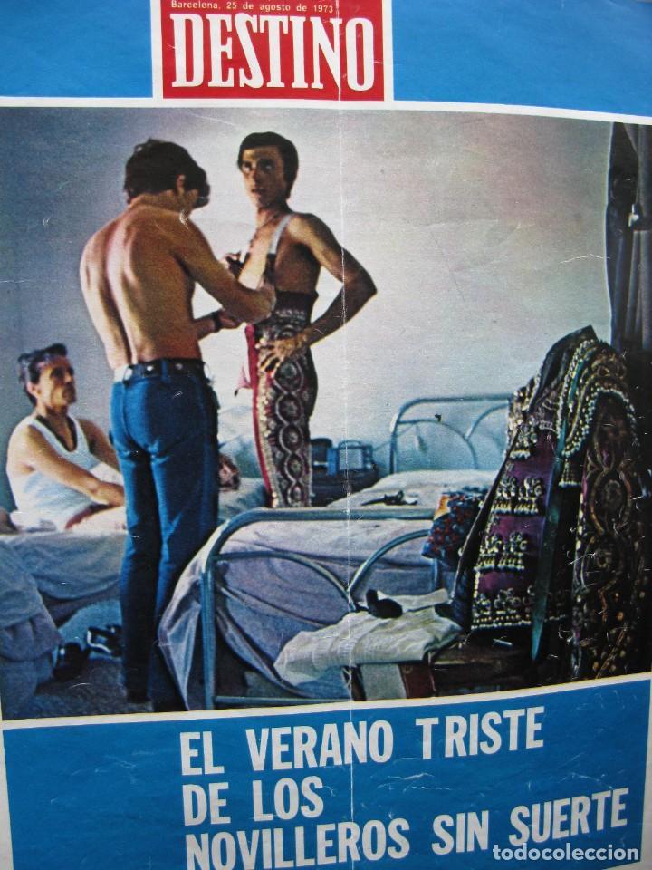 Coleccionismo de Revista Destino: PPRLY - SAFARI A PERPIGNAN, TERENCE MOIX. MONÓLOGO DE MERCÉ RODODERA. VER SUMARIO. - Foto 5 - 89644600