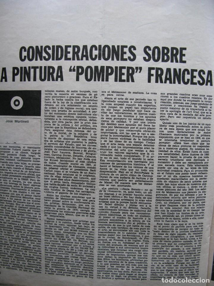Coleccionismo de Revista Destino: PPRLY - SAFARI A PERPIGNAN, TERENCE MOIX. MONÓLOGO DE MERCÉ RODODERA. VER SUMARIO. - Foto 7 - 89644600