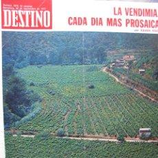 Coleccionismo de Revista Destino: PPRLY - ADOLF HITLER - MAO TSE-TUNG - JUAN DOMINGO PERÓN - MUERTE DE ALBERT SKIRA. VER SUMARIO.. Lote 91663330