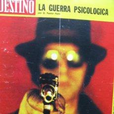 Coleccionismo de Revista Destino: PPRLY - FELIP GRAUGÉS - EL TREN DE SÓLLER . VER SUMARIO.. Lote 91839360