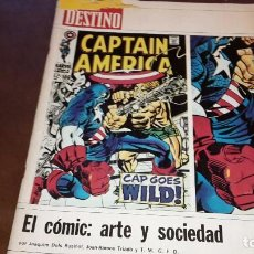 Colecionismo da Revista Destino: DESTINO. EL COMIC: ARTE Y SOCIEDAD. Lote 92146005