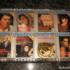 Coleccionismo de Revista Destino: LOTE 8 REVISTAS DESTINO NUEVA EPOCA Nº 1 2 3 4 5 6 7 8. Lote 95766303