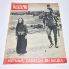Coleccionismo de Revista Destino: REVISTA DESTINO Nº1548 - 8 ABRIL 1967. Lote 96346983