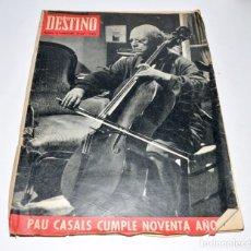 Coleccionismo de Revista Destino: REVISTA DESTINO Nº1534 - 31 DICIEMBRE 1966. Lote 96346995