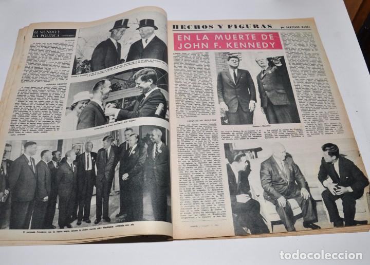 Coleccionismo de Revista Destino: REVISTA DESTINO Nº1373 - 30 NOVIEMBRE 1963 - NUMERO EXTRAORDINARIO, PRESIDENTE KENNEDY - Foto 3 - 96347015