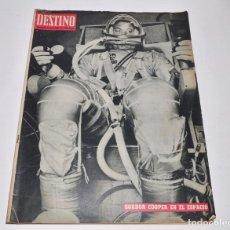 Coleccionismo de Revista Destino: REVISTA DESTINO Nº1345 - 18 MAYO 1963 -. Lote 96347023