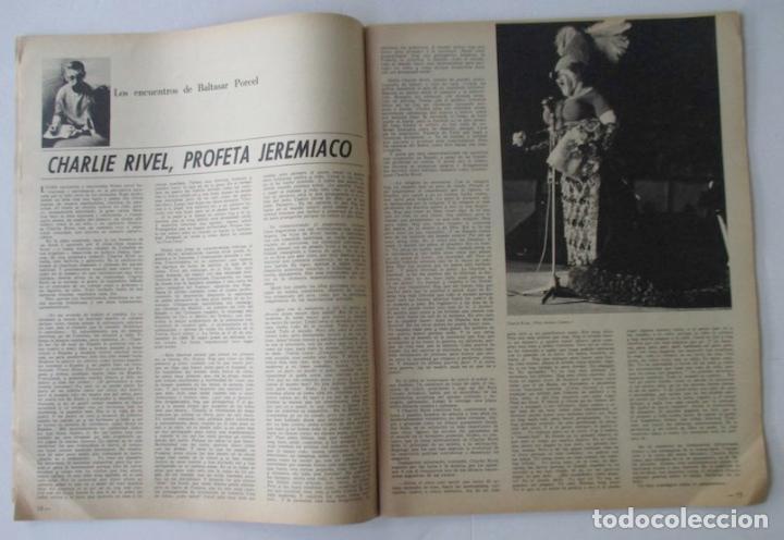 Coleccionismo de Revista Destino: REVISTA DESTINO - AÑO 1969 - CHARLIE RIVEL EL MEJOR PAYASO DEL MUNDO, SALVAD EL MONTSENY... - Foto 2 - 96754955