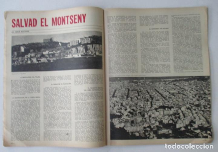Coleccionismo de Revista Destino: REVISTA DESTINO - AÑO 1969 - CHARLIE RIVEL EL MEJOR PAYASO DEL MUNDO, SALVAD EL MONTSENY... - Foto 3 - 96754955