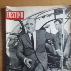 Coleccionismo de Revista Destino: REVISTA DESTINO / GEORGES POMPIDOU / Nº 1653 / 7 JUNIO 1969. Lote 96823247