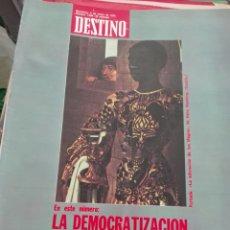 Coleccionismo de Revista Destino: REVISTA DESTINO 1944 / ENERO 1975 / LA DEMOCRATIZACION DE LA EMPRESA / 44. Lote 85290716