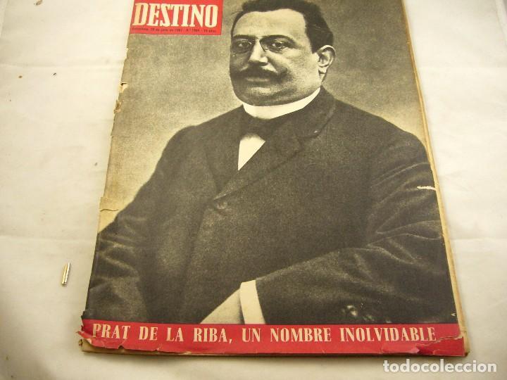 REVISTA DESTINO NUMERO 1564 (Coleccionismo - Revistas y Periódicos Modernos (a partir de 1.940) - Revista Destino)