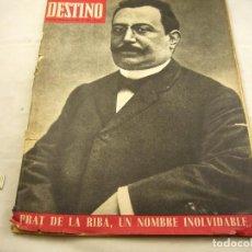 Coleccionismo de Revista Destino: REVISTA DESTINO NUMERO 1564. Lote 97921343