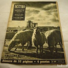 Coleccionismo de Revista Destino: REVISTA DESTINO NUMERO 809. Lote 97921523