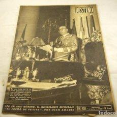 Coleccionismo de Revista Destino: REVISTA DESTINO NUMERO 832. Lote 97921655