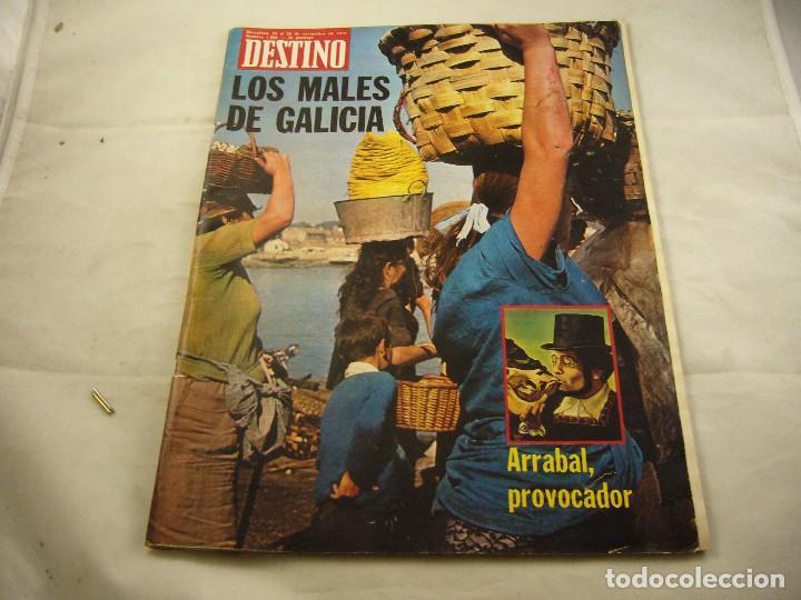 REVISTA DESTINO NUMERO 1990 (Coleccionismo - Revistas y Periódicos Modernos (a partir de 1.940) - Revista Destino)