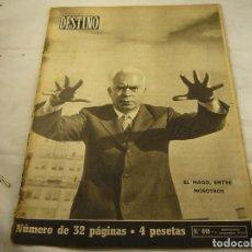 Coleccionismo de Revista Destino: REVISTA DESTINO 848. Lote 97922535