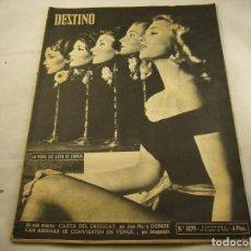 Coleccionismo de Revista Destino: REVISTA DESTINO 1073. Lote 97922883