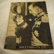 Coleccionismo de Revista Destino: REVISTA DESTINO 823. Lote 97923083