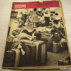 Coleccionismo de Revista Destino: REVISTA DESTINO 1197. Lote 97923543