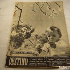Coleccionismo de Revista Destino: REVISTA DESTINO 865. Lote 97923683