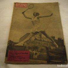 Coleccionismo de Revista Destino: REVISTA DESTINO 1195. Lote 97923767