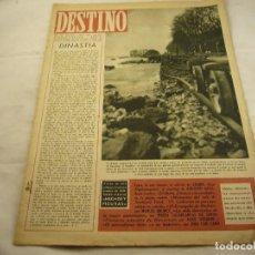 Collectionnisme de Magazine Destino: REVISTA DESTINO NUMERO 498. Lote 97980599
