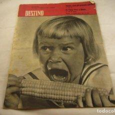 Coleccionismo de Revista Destino: REVISTA DESTINO NUMERO 1147. Lote 97981651
