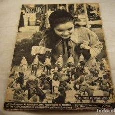 Coleccionismo de Revista Destino: REVISTA DESTINO NUMERO 906. Lote 97981867