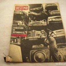 Coleccionismo de Revista Destino: REVISTA DESTINO 1739. Lote 97982471