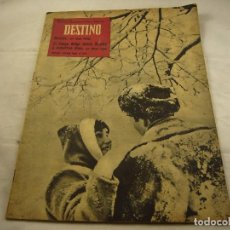 Coleccionismo de Revista Destino: REVISTA DESTINO 1172. Lote 98193515